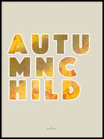 Poster: Autumnchild, by Ingrid Kraiser - ingrid art design