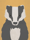 Poster: Bad Badger, by Discontinued products
