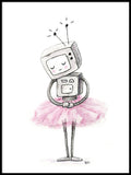 Poster: Ballerinabot, by Discontinued products