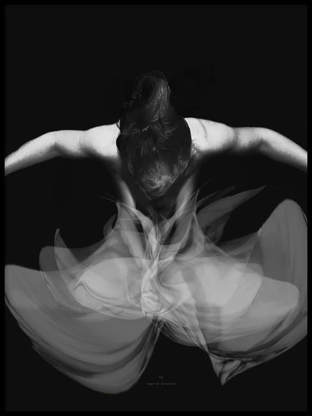 Poster: Ballet Wind, by Ingrid Kraiser - ingrid art design