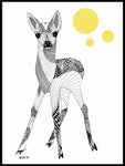 Poster: Bambi, by Mooncake