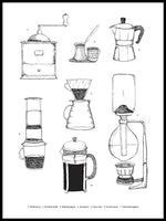 Poster: Barista, by Discontinued products