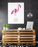 Poster: Be a Flamingo, by Discontinued products