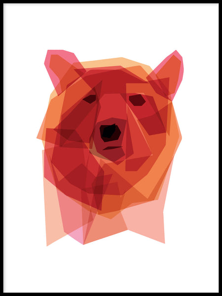 Poster: Bear, by By Vogt