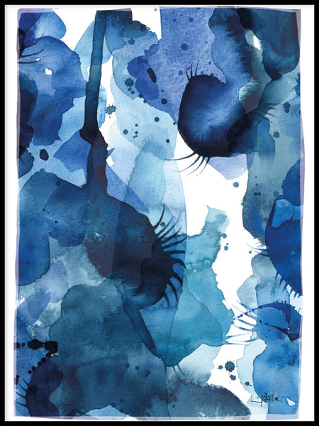Poster: Blue Hour, by Ingrid Fröhlich