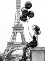 Poster: Black Balloons, by Magdalena Martin Photography