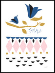Poster: Bluebell, by Jenny Wallmark designstudio