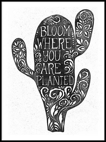 Poster: Bloom, by Sofie Rolfsdotter