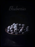 Poster: Blueberries, by LO Art Design