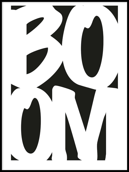 Poster: Boom, by Paperago