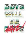 Poster: Boys will be, by Ateljé Enström