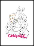Poster: Chanel Glove, by Jiashen Han