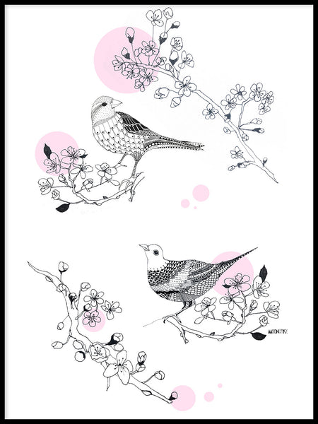 Poster: Cherrybird, by Mooncake