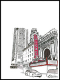 Poster: Chicago Theater, by Discontinued products
