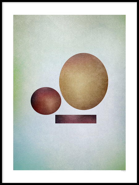 Poster: Circles, by mimono