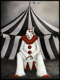 Poster: Circus, Clown, by Majali Design & Illustration