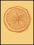 Poster: Lemon Orange, by Fia-Maria