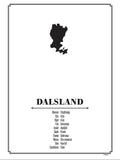 Poster: Dalsland, by Caro-lines