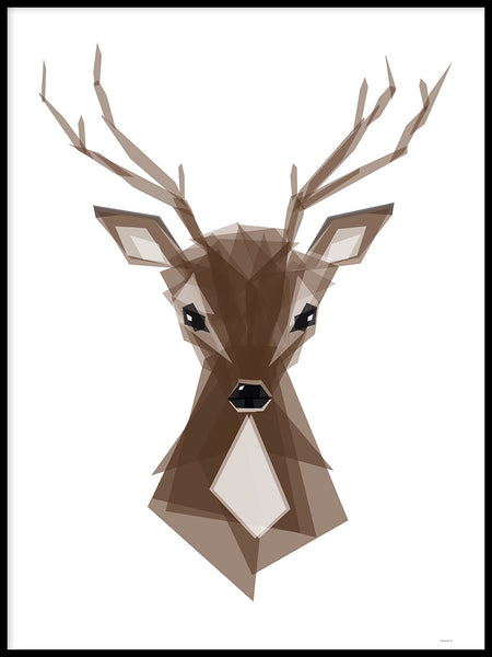 Poster: Deer, by ANNABOYE