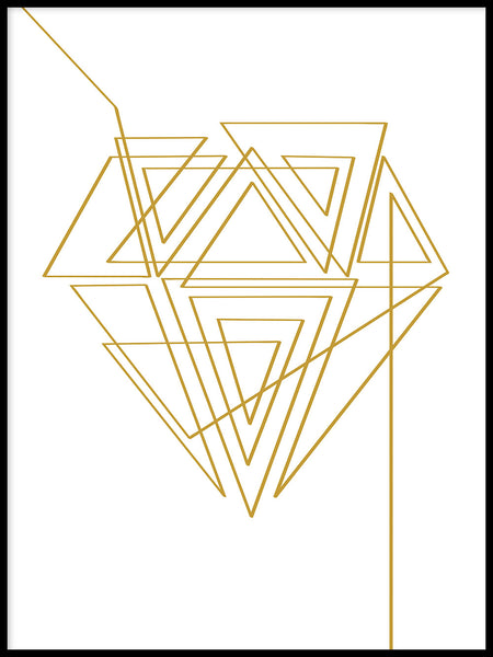 Poster: Diamond, by LIWE