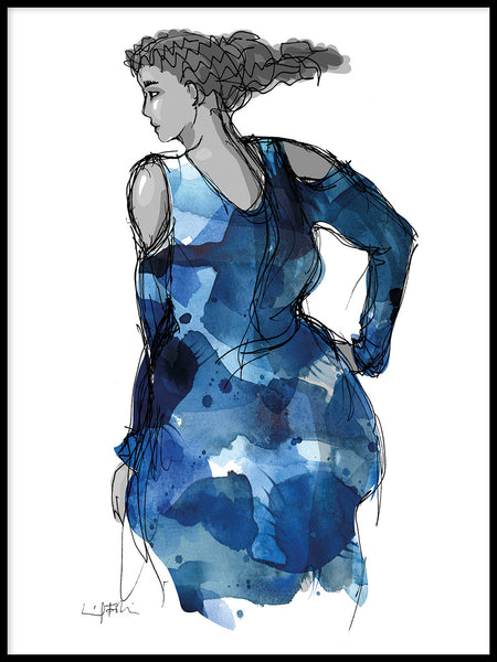Poster: Dress, by Ingrid Fröhlich