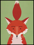Poster: Fancy Fox, by Kort & Gott
