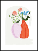 Poster: Flowers, by Susse Collection
