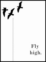 Poster: Fly High, by Anna Mendivil / Gypsysoul