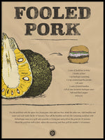 Poster: Fooled Pork, by Discontinued products