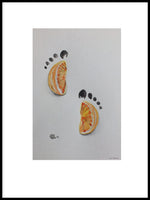 Poster: Footprints, by Sofie Staffans-Lytz