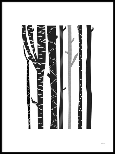 Poster: Forest, by mimono