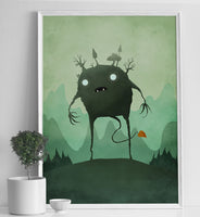 Poster: Forest Elemental, by Discontinued products
