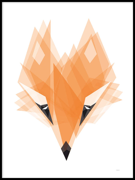 Poster: Fox, by ANNABOYE