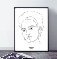 Poster: Frida, by Alice Engren