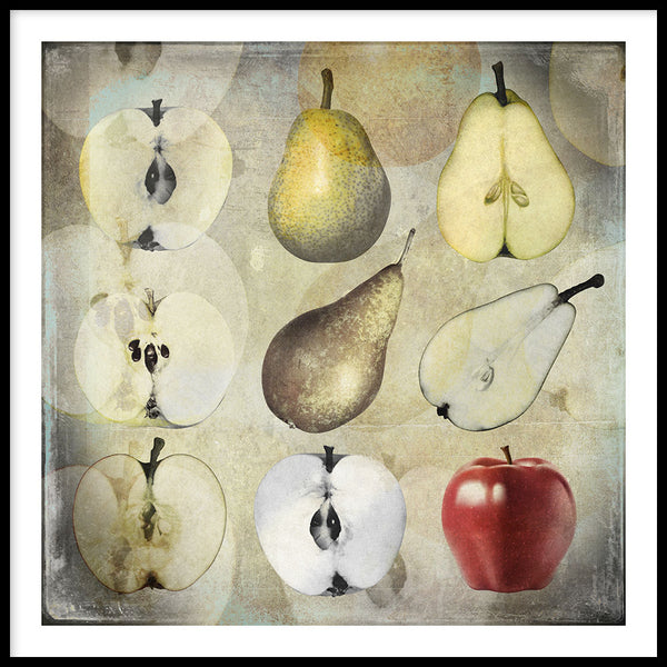 Poster: Fruit, av Discontinued products