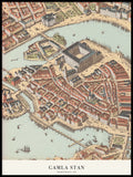 Poster: Gamla Stan 1870, by Discontinued products