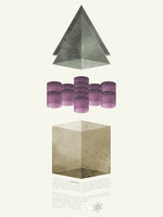 Poster: Geometry 1, by Discontinued products