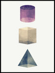 Poster: Geometry 2, by Sebastian Matar