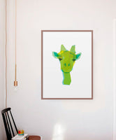 Poster: Giraffe, by Discontinued products