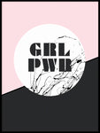 Poster: Girlpower, av Anna Mendivil / Gypsysoul