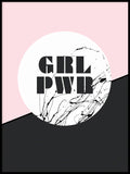 Poster: Girlpower, by Anna Mendivil / Gypsysoul