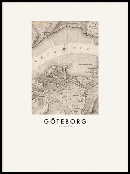 Poster: Gothenburg 1815, by Discontinued products