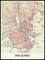 Poster: Helsinki 1897, by Discontinued products