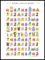 Poster: Home Sweet Home, by Annas Design & Illustration