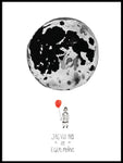 Poster: I want my own moon, by Jessica Ahrling