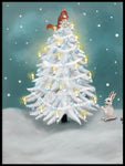 Poster: Christmas Tree, by Lindblom of Sweden
