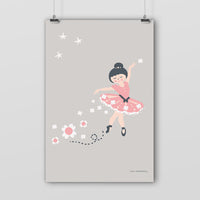 Poster: Just Dance, pink, by Discontinued products