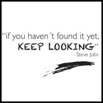 Poster: Keep looking, av lindasofieolsson