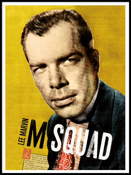 Poster: Lee Marvin, by Honky Tonker