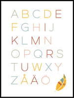 Poster: Letters, by Katri Hansson